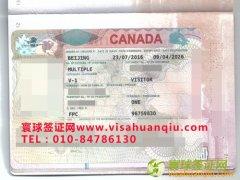 河南省,甘先生,加拿大旅游签证顺利通过