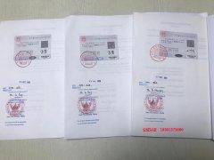 海南省,王女士,泰国使馆双认证顺利通过